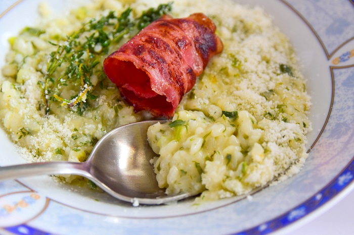 savoury parmesan rice with herbs yummy recipe